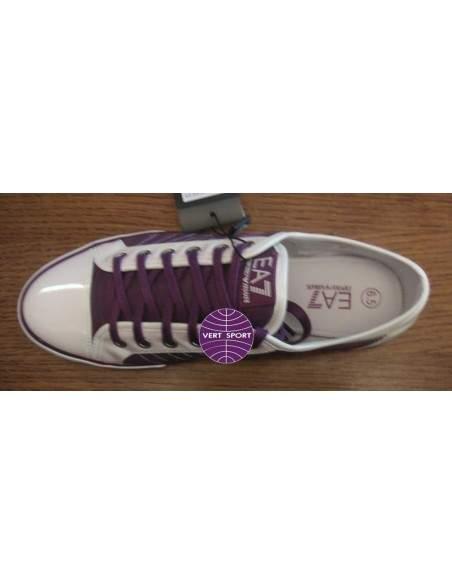 Scarpe Emporio Armani EA7 sneaker con logo 285206 women col viola / 25010
