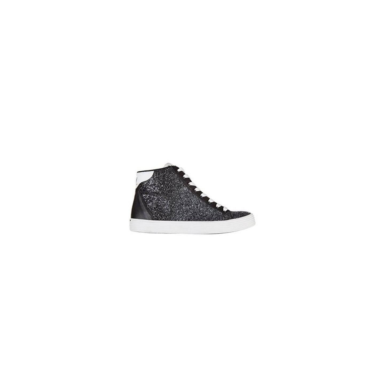 Shoes Emporio Armani EA7 SNEAKER High Woman 288033 6A299 00020 Blac... e2927c022fe