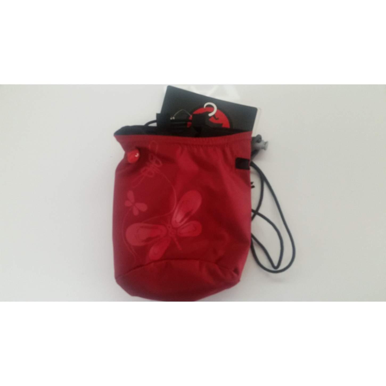Porta magnesite MAMMUT chalk bag ROSSO farfalla