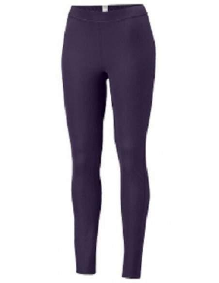 COLUMBIA poids moyen de la COUCHE de BASE des collants, mi-femmes de poids, de couleur violette/plume