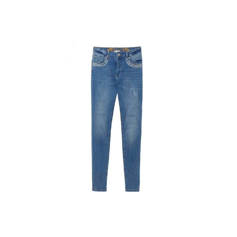 desigual vestiti, Desigual donna jeans e denim gonna blu