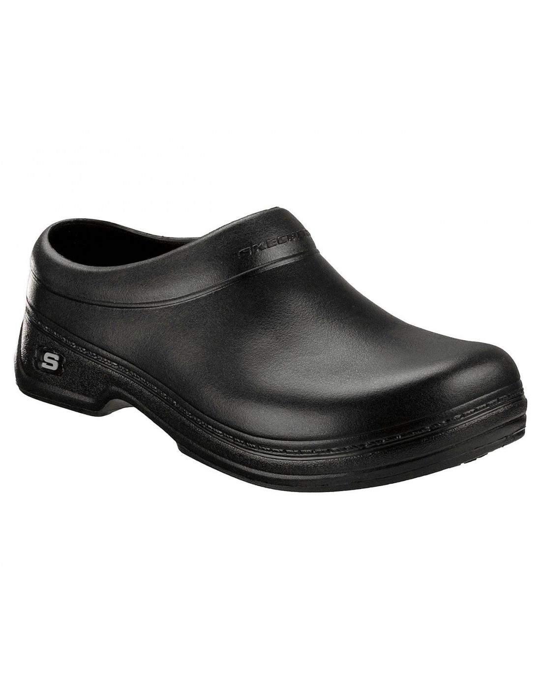 SKECHERS work Shoes Man 76778 BLK Work: Oswald Balder
