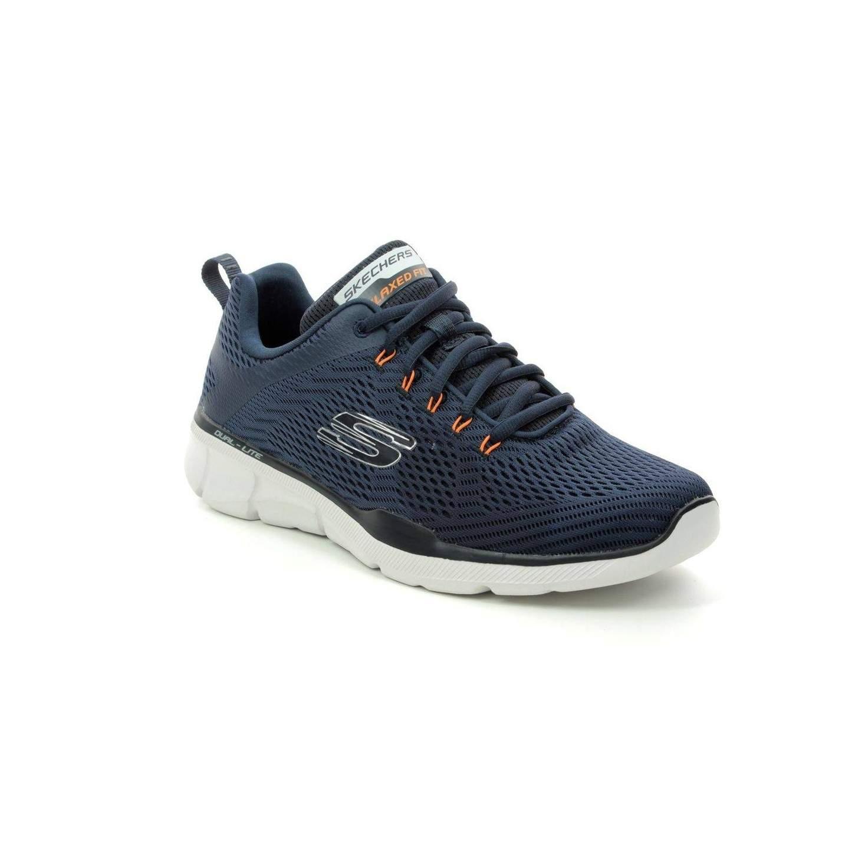logo material Molester  Shoes SKECHERS 52927 Equalizer 3.0 Men Blue-Orange, Fashion and spo...