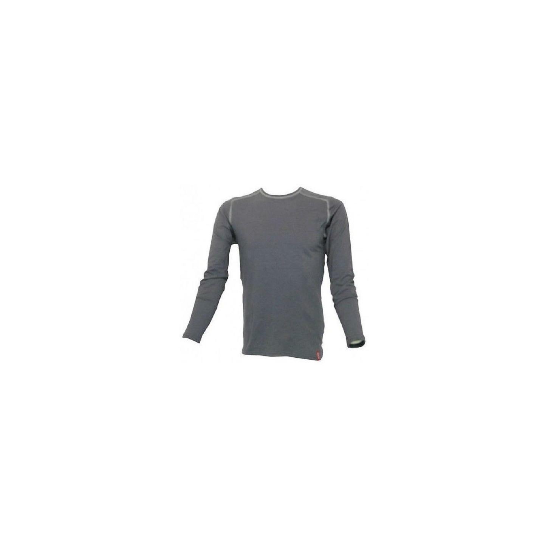 Loffler maillage sous-vêtements pour hommes gris métallisé de la morue.10732